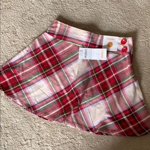 NWT Gymboree skirt/attached pant, 6, adjust. waist